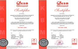 SİNERJİ A.Ş ISO 9001